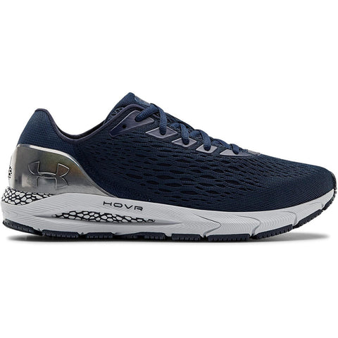 UNDER ARMOUR MEN'S HOVR SONIC 3 RUNNING SHOE METALLIC/NAVY