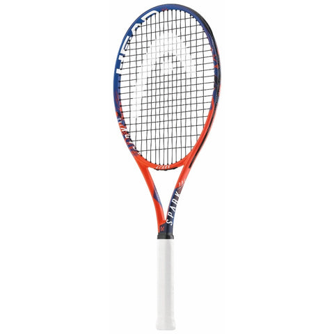 HEAD SPARK PRO TENNIS RACQUET ORANGE