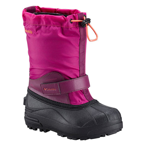 COLUMBIA GIRLS POWDERBUG FORTY X WINTER BOOT BLUSH