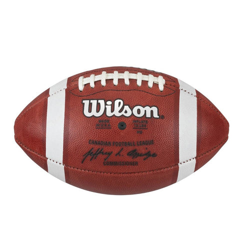 WILSON CFL OFFICIAL GAME FOOTBALL