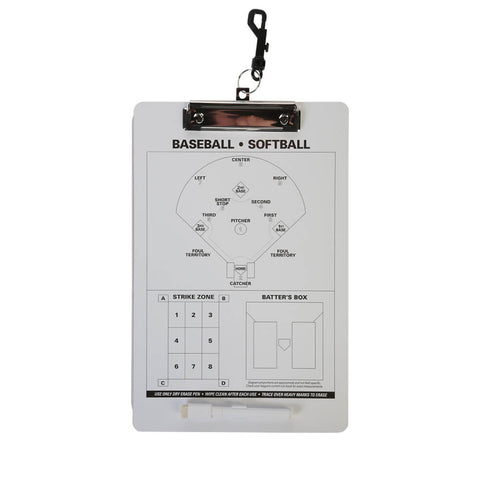 RAWLINGS SYSTEM-17 BASEBALL/SOFTBALL COACHES CLIPBOARD