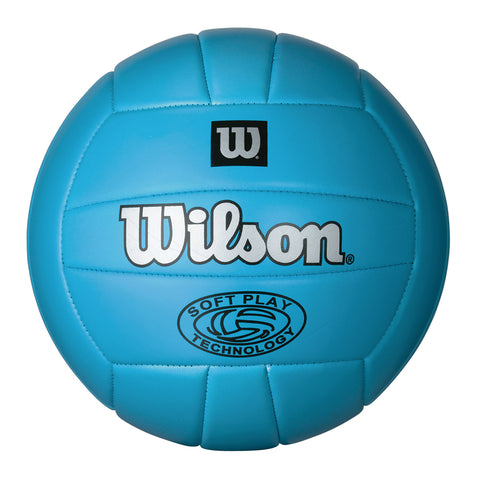 WILSON SOFTPLAY  BLUE VOLLEYBALL
