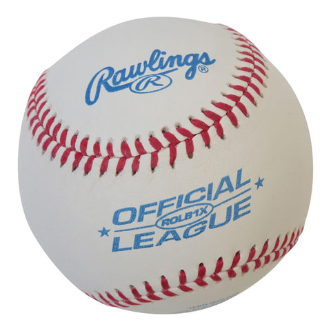 RAWLINGS ROLB1X IMPERFECTIONS COMPOSITE CORK/RUBBER CENTRE RAISED SEEM 9 INCH BASEBALL
