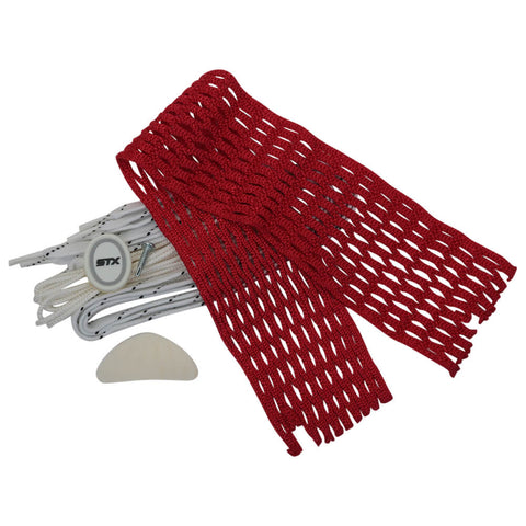 STX COLOURED MESH RED