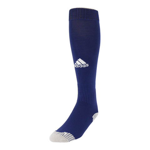 ADIDAS ADISOCK 12 NAVY MEDIUM SOCCER SOCK (7-8.5)