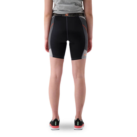 SHOCK DOCTOR WOMEN'S SLIDING SHORT WITH PELVIC PROTECTOR LARGE