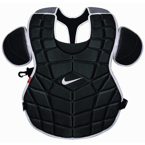 NIKE DE3539 18 INCH BLACK CATCHER CHEST PROTECTOR