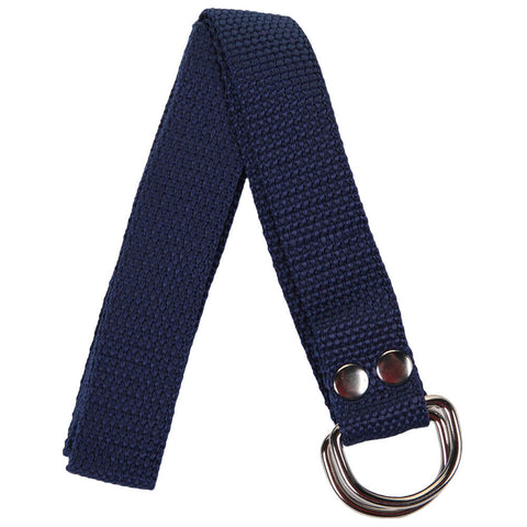 ADAMS 1 INCH WIDE NAVY FOOTBALL BELT
