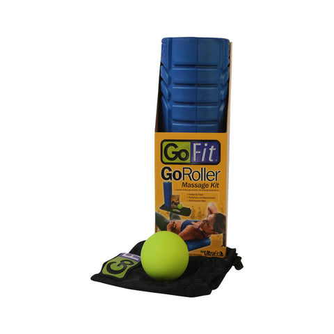 GOFIT TRAVEL ROLLER 12 INCH W/RELEASE BALL
