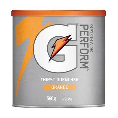 GATORADE ORANGE POWDER 560 GRAMS