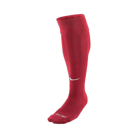 NIKE RED X LARGE RED SOCCER SOCK (12-15)