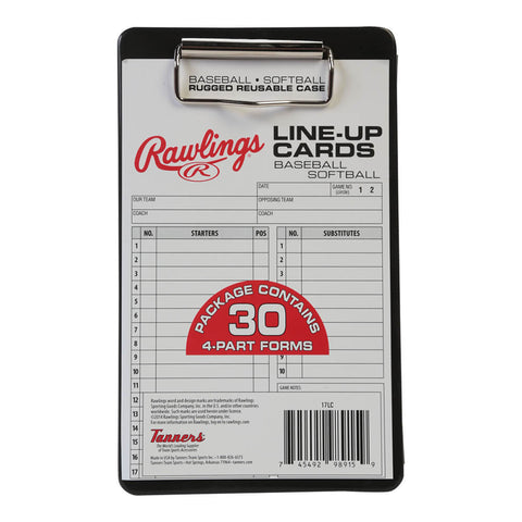 RAWLINGS SYSTEM-17 LINEUP CARD CASE