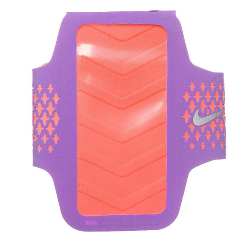 NIKE WOMENS DIAMOND HYPER GRAPE/BRIGHT MANGO ARM BAND