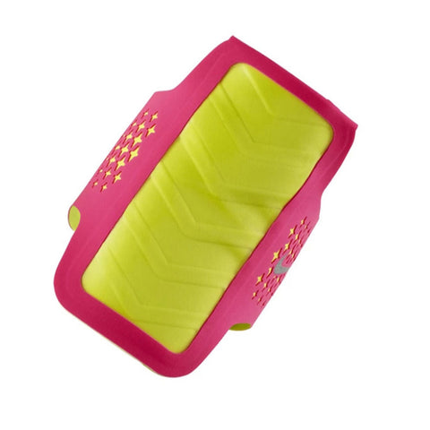 NIKE WOMENS DIAMOND HYPER PINK/VOLT ARM BAND
