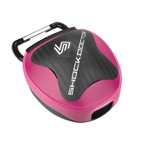 SHOCK DOCTOR SD105C PINK MOUTHGUARD CASE