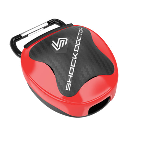 SHOCK DOCTOR SD106C RED MOUTHGUARD CASE