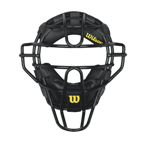 WILSON DYNA-LITE STEEL UMPIRE MASK - SYNTHETIC PADDING