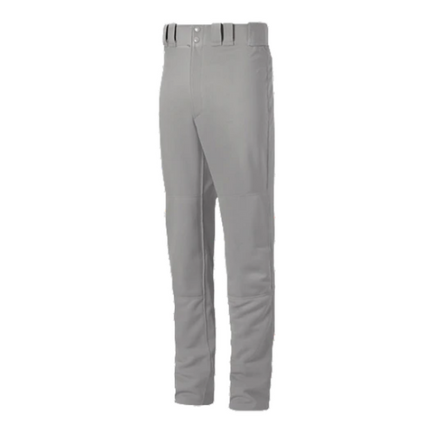 MIZUNO YOUTH SELECT PRO MEDIUM GREY BASEBALL PANT