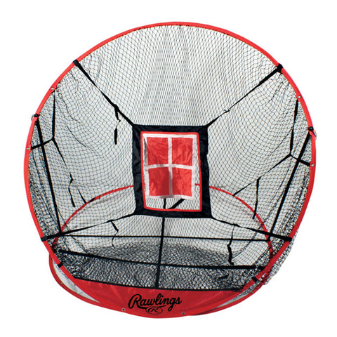 RAWLINGS 3 IN 1 POP-UP NET 5 FOOT WITH TARGETS