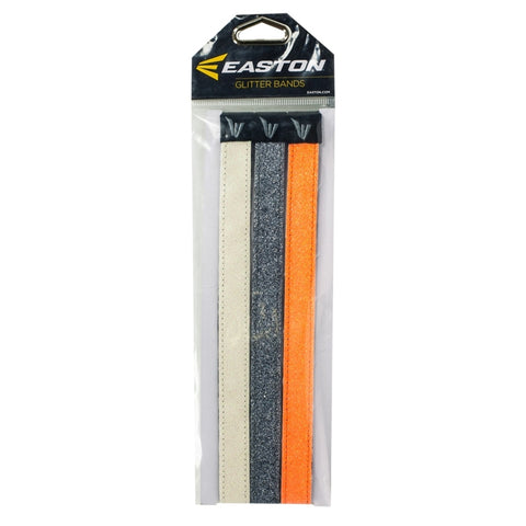 EASTON GLITTER HEADBANDS 3 PACK WHITE/GOLD/ORANGE