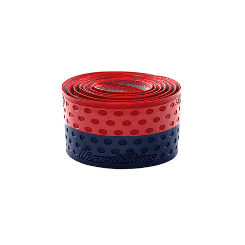 LIZARD SKINS 1.1MM NAVY/RED BAT GRIP
