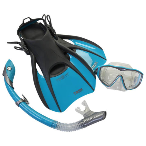 AQUA LUNG DIVA-ISLAND-TREK SMALL SNORKELING SET
