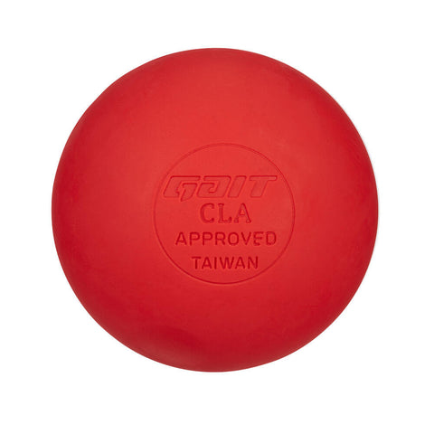 GAIT 2-PACK RED LACROSSE BALLS