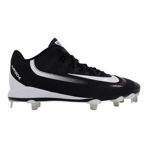 NIKE MEN'S HUARACHE 2K PRO LOW METAL BASEBALL CLEAT BLACK