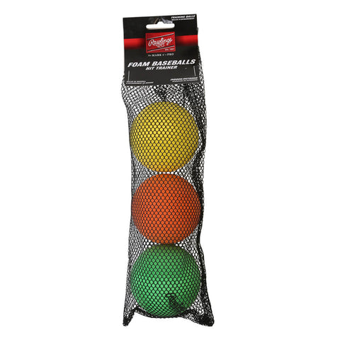RAWLINGS HIT TRAINER BALLS 3-PACK