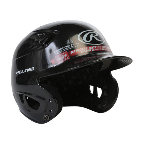 RAWLINGS VELO R16 SR BATTING HELMET METALLIC BLACK