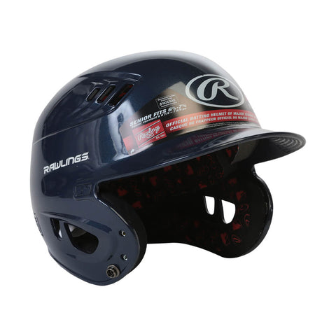 RAWLINGS VELO R16 SR BATTING HELMET METALLIC NAVY