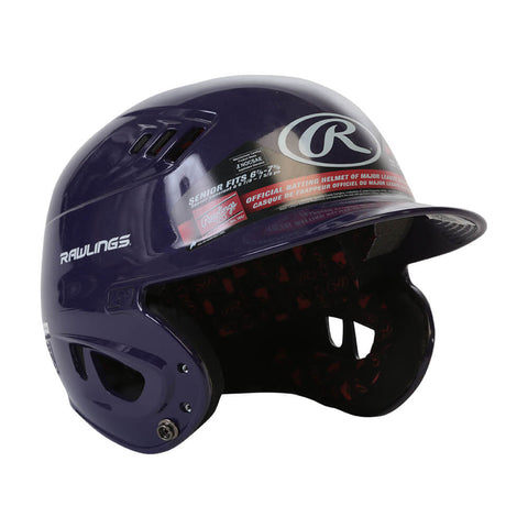 RAWLINGS VELO R16 SR BATTING HELMET METALLIC PURPLE