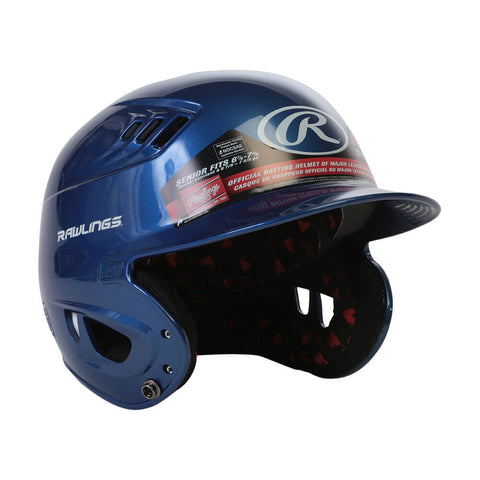 RAWLINGS VELO R16 SR BATTING HELMET METALLIC ROYAL