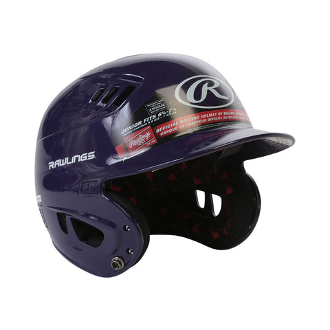 RAWLINGS VELO R16  JR BATTING HELMET METALLIC PURPLE