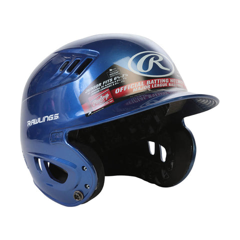 RAWLINGS VELO R16  JR BATTING HELMET METALLIC ROYAL