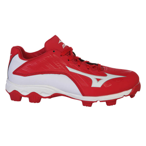 MIZUNO JR FRANCHISE 8 RED/WHITE BASEBALL CLEAT