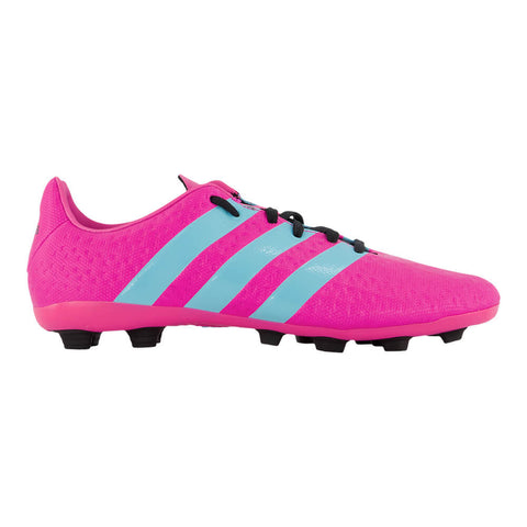 ADIDAS WOMEN'S ACE 16.4 FG SOCCER CLEAT PINK/BLUE