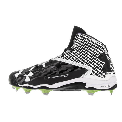 UNDER ARMOUR M DECEPTION MID DT METAL BLK/WHT