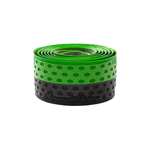LIZARD SKINS 1.1MM GREEN/BLACK BAT GRIP