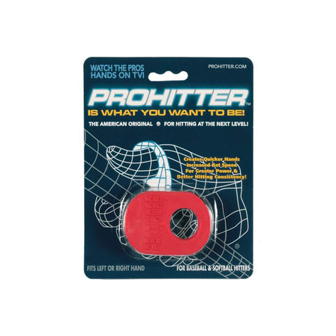 PROHITTER GRIP SENIOR RED
