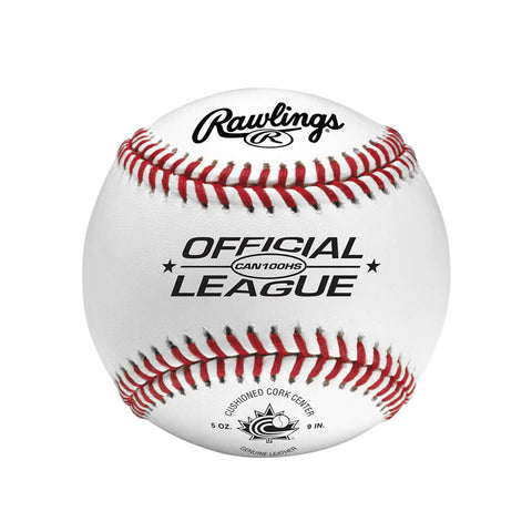 RAWLINGS CAN100HS CUSHION CORK PRO SEAM 9 INCH BASEBALL