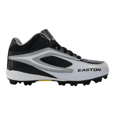 EASTON JR DIAMOND MID BLK/WHT