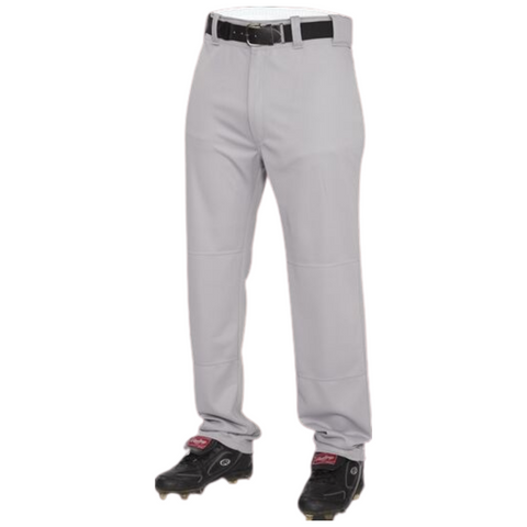 RAWLINGS MEN'S PRO GREY LARGE BASEBALL PANT