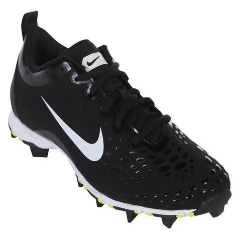 NIKE WOMEN'S HYPERDIAMOND 2 KEYSTONE BLACK BASEBALL CLEAT