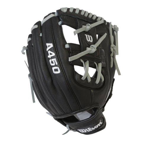 WILSON YOUTH A450 STAFF PEDROIA 10.75 INCH BASEBALL GLOVE REG.