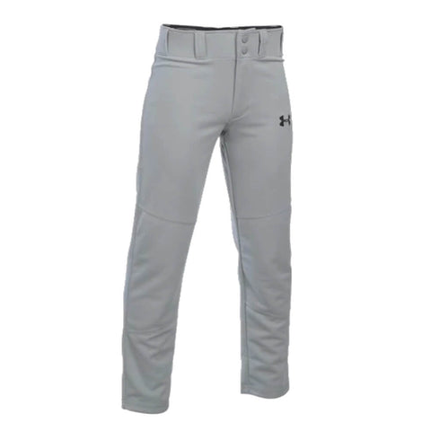 UNDER ARMOUR JUNIOR LEADOFF II LARGE GRAY BASEBALL PANT