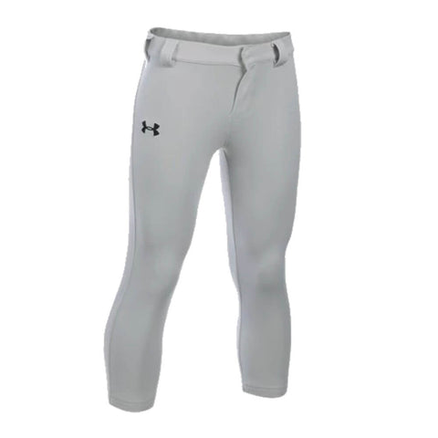 UNDER ARMOUR YOUTH SIZE 6 GRAY BASEBALL PANT