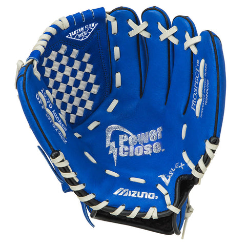 MIZUNO YOUTH PROSPECT POWER CLOSE ROYAL 10.75 INCH LHT BASEBALL GLOVE