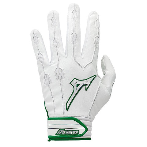 MIZUNO YOUTH COVERT X LARGE GREEN BATTING GLOVE