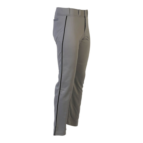 EASTON MAKO 2 PIPED MEDIUM GRAY/BLACK BASEBALL PANT